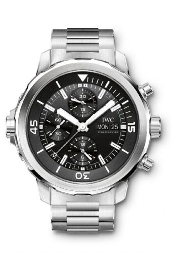 IWC Aquatimer Black Automatic Chronograph Gents Watch IW376804